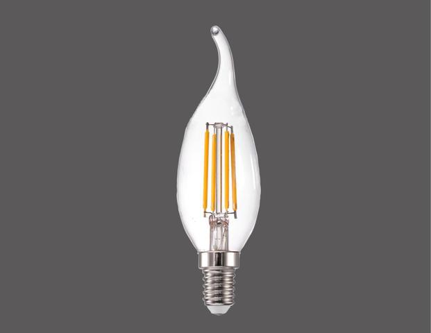 Leucht-Flammkerze 12cm