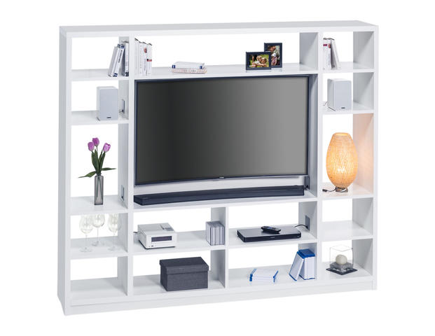 Raumteiler mit Cableboard