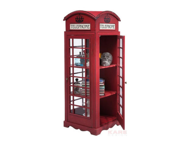 Vitrine Cabinet London Telephone