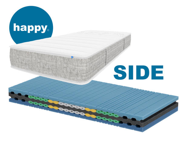 Matratze Happy Sleep SIDE