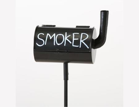 Gartenstab Aschenbecher Smoker