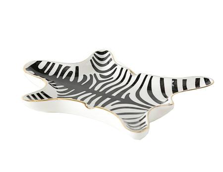 Aschenbecher Zebra