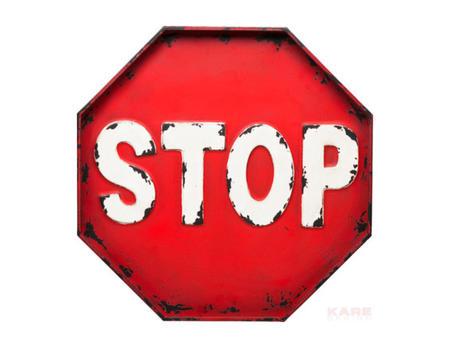 Wandschmuck Stop