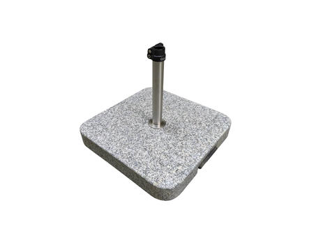 Granitsockel Z mit Rollen, 55 kg