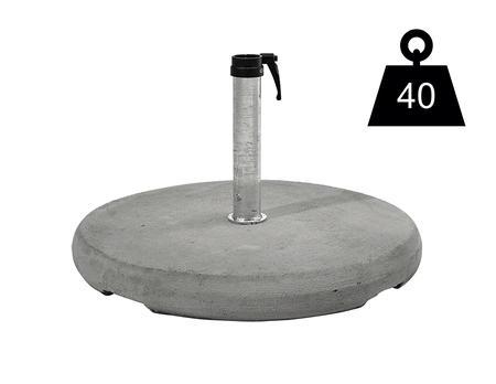 Betonsockel Z, 40 kg
