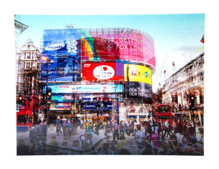 Bild Glas Piccadilly Circus