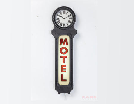 Leuchtobjekt Motel Time
