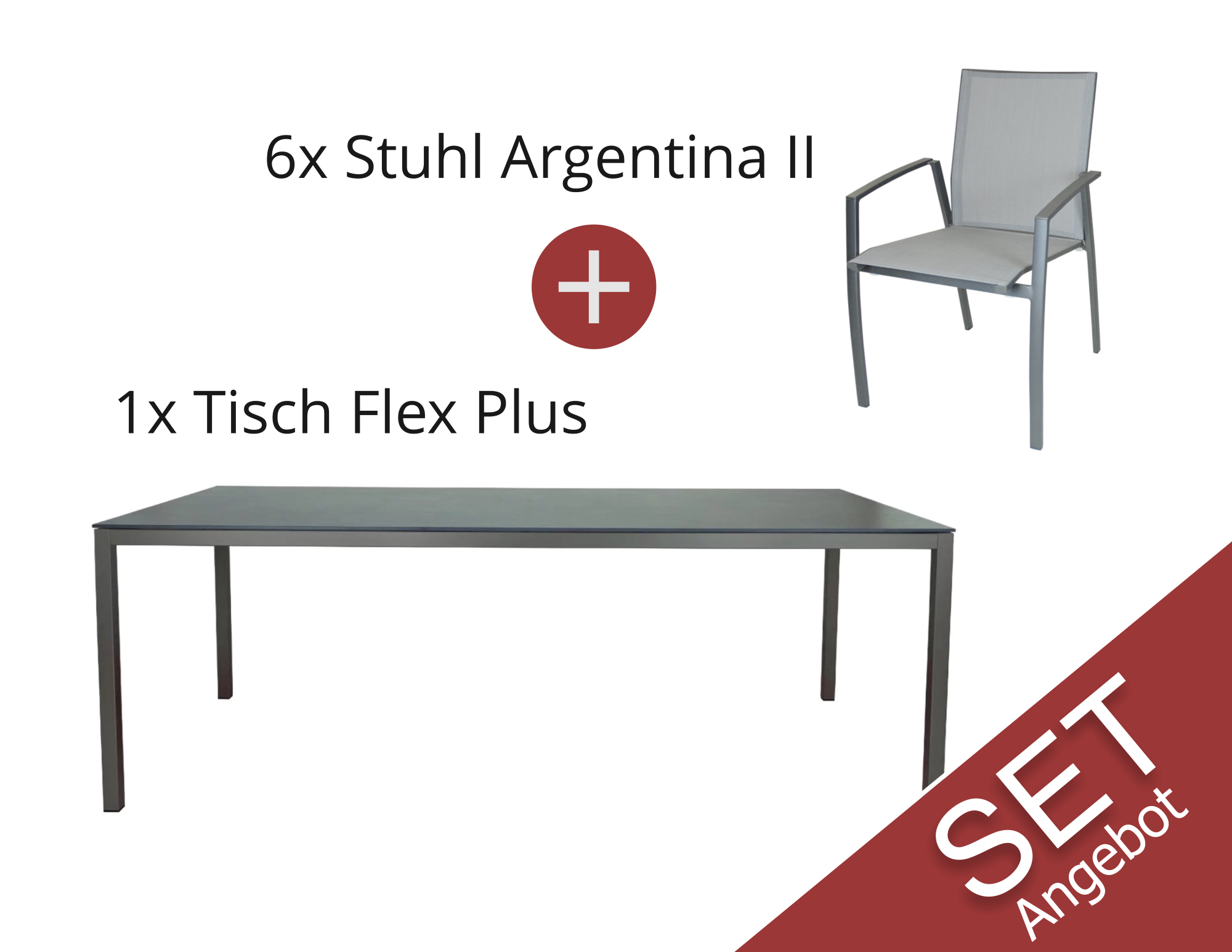 Aktions-Set: Flex Plus (Bluestone) / Argentina