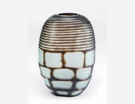 Vase Chocochino rund