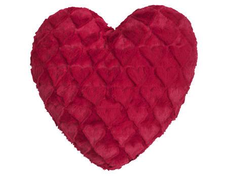 Kissen Fluffy Hearts