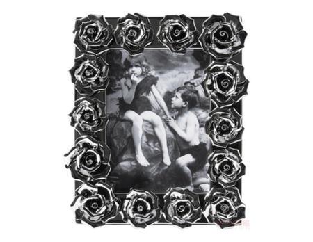 Rahmen Rosenblüten