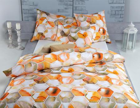 Bettanzug Mila orange