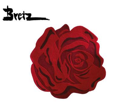 Teppich Rosenblüte