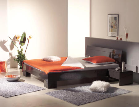Bett Genua inkl. Nachttisch