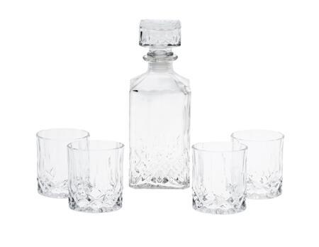 Karaffe mit 4 Whisky-Gläser