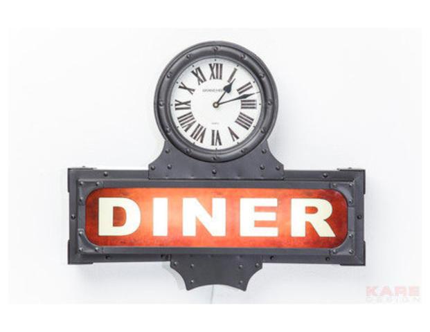 Leuchtobjekt Diner Time