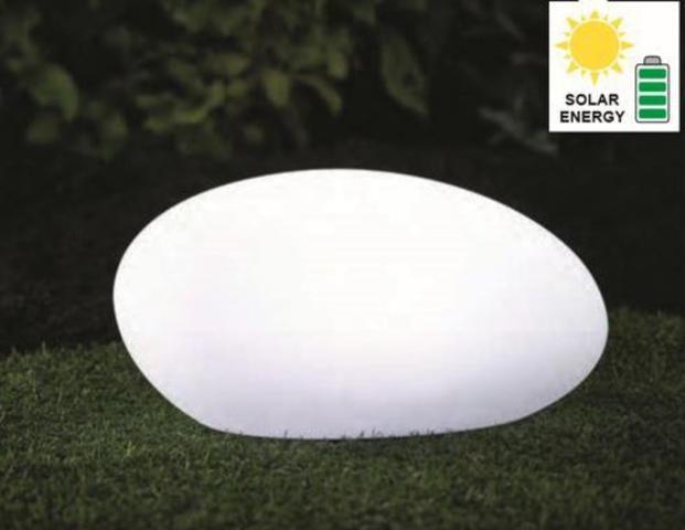 Solarlampe Kugel oval
