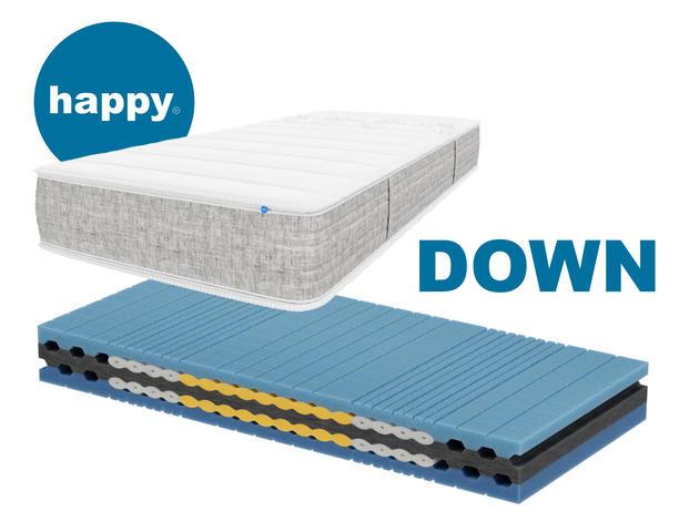 Matratze Happy Sleep DOWN